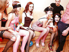 We had the unwavering weekend ahead, a giant apartment fully at our disposal, some aberrant sex toys and a funny dress... Hmm, it sounds like a induce combination for a wild sex party! Add lots of champagne and the flavourful college beauties, and u'll...