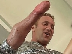 Attractive naughty busty coddle get pounded by monster big dick