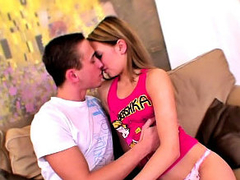 Awesome randy comme ‡a teen getting face fucked and loving it